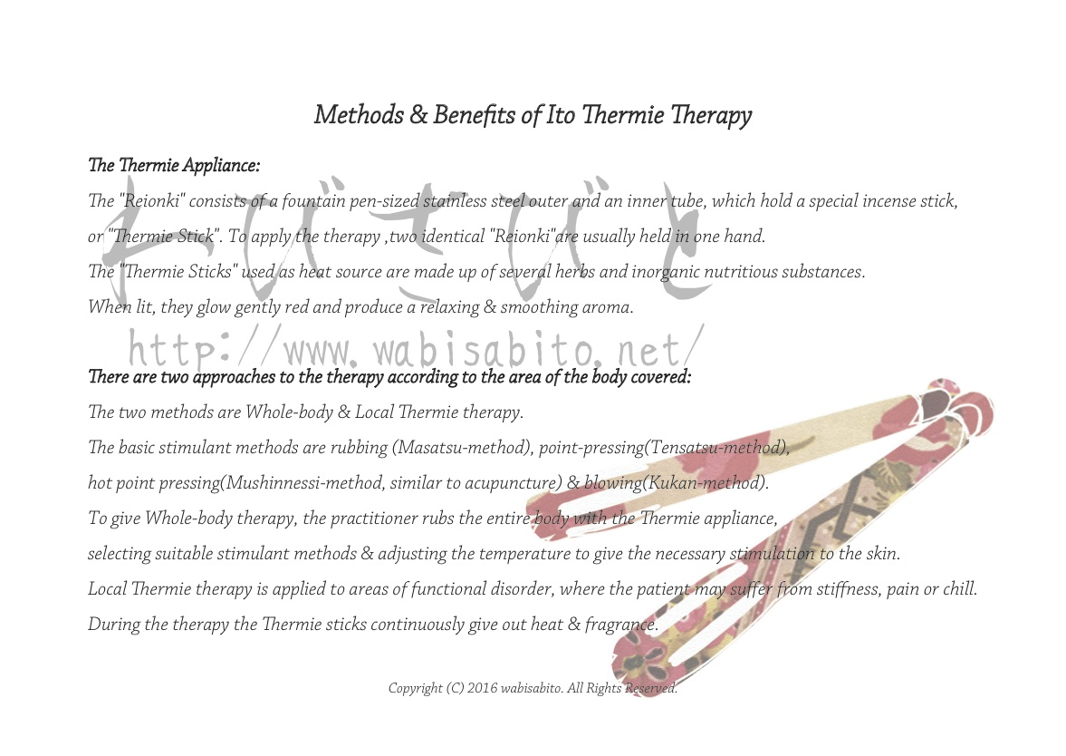 Methods & Benefits of Ito Thermie Therapy